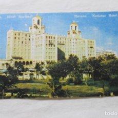 Postales: POSTAL HABANA HOTEL NACIONAL CUBA, REPUBLICA DE CUBA. Lote 278878758
