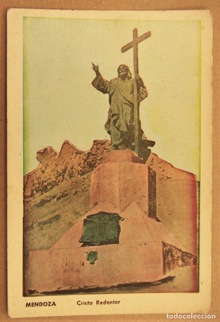 POSTAL DE MENDOZA (ARGENTINA). MONUMENTO AL CRISTO-REDENTOR SIN ESCRIBIR (Postales - Postales Extranjero - América)