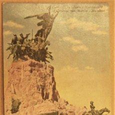 Postales: POSTAL DE MENDOZA (ARGENTINA).CERRO DE LA GLORIA MONUMENTO AL GENERAL SAN MARTIN SIN ESCRIBIR. Lote 278956458