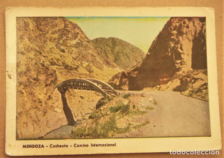 POSTAL DE MENDOZA (ARGENTINA).CACHEUTA CAMINO INTERNACIONAL SIN ESCRIBIR (Postales - Postales Extranjero - América)