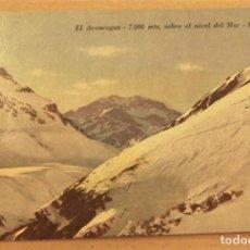 Postales: POSTAL DE MENDOZA (ARGENTINA).EL ACONCAGUA 7000 MTS SIN ESCRIBIR. Lote 278957688