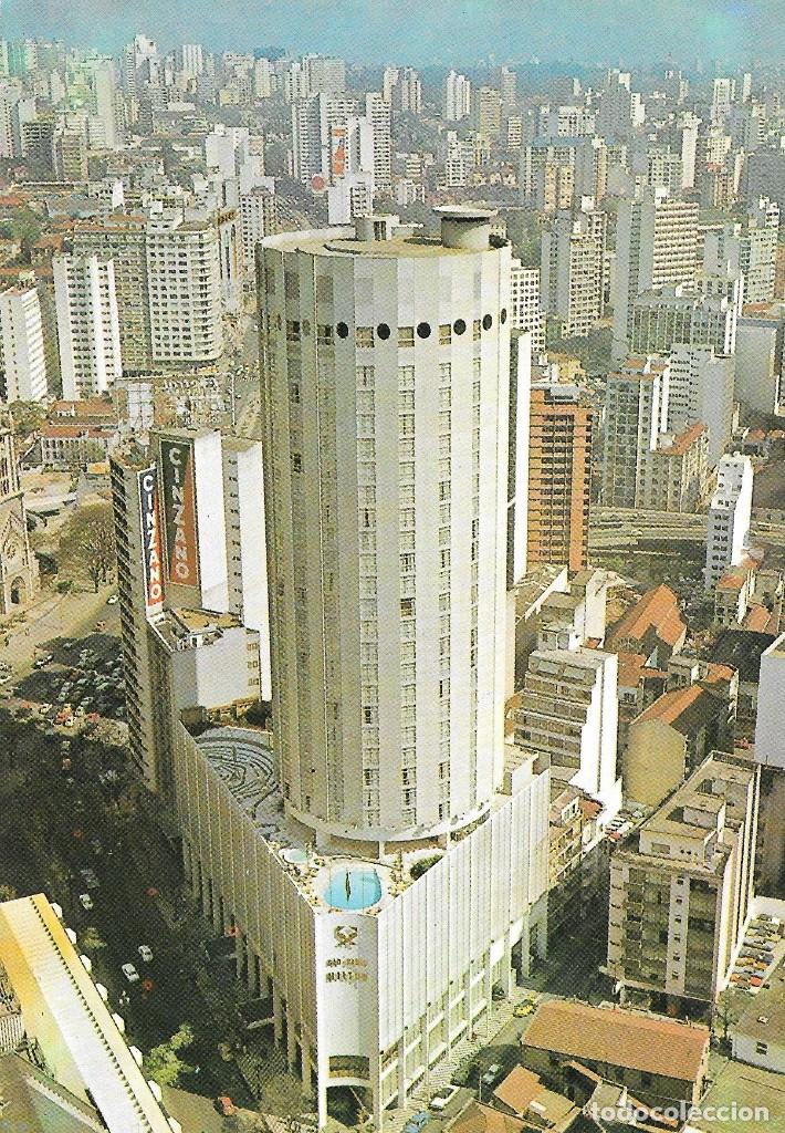 SAO PAULO HILTON - BRASIL (Postales - Postales Extranjero - América)
