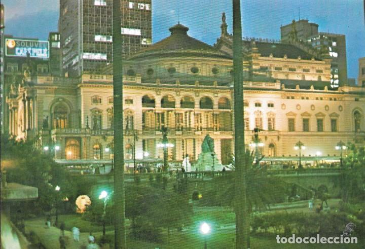 TEATRO MUNICIPAL - SAO PAULO - BRASIL (Postales - Postales Extranjero - América)