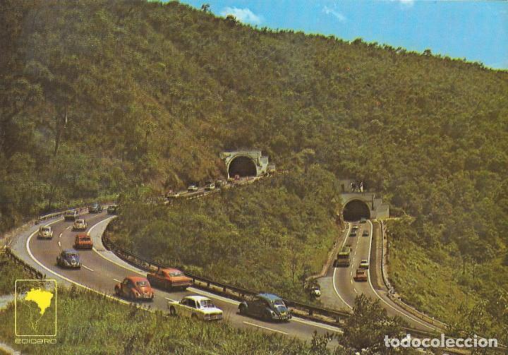 VIA ANCHIETA - SANTOS (SAO PAULO) - BRASIL (Postales - Postales Extranjero - América)
