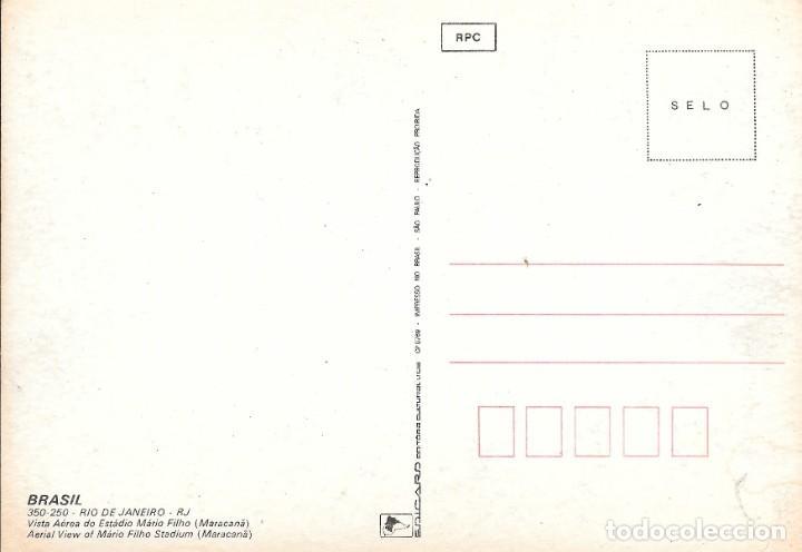 Postales: VISTA AEREA ESTADIO MARIO FILHO - MARACANÁ - RÍO DE JANEIRO - BRASIL - Foto 2 - 279334488