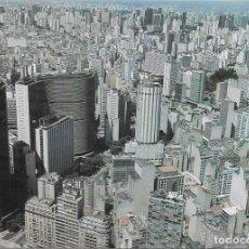 Postales: VISTA AEREA CIUDAD SAO PAULO - BRASIL. Lote 279335343