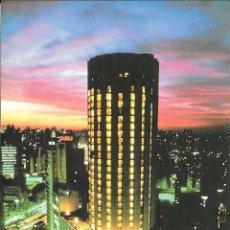 Postales: SAO PAULO HILTON - VISTA NOCTURNA - BRASIL. Lote 279351133