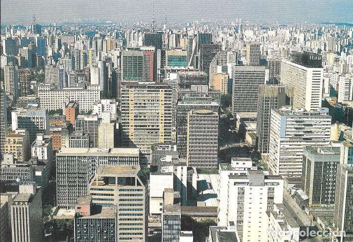 VISTA AEREA CIUDAD SAO PAULO - BRASIL (Postales - Postales Extranjero - América)