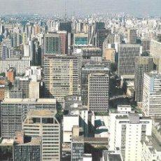 Postales: VISTA AEREA CIUDAD SAO PAULO - BRASIL. Lote 279351253