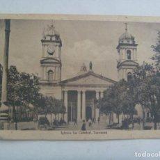 Postales: POSTAL DE TUCUMAN ( MEXICO ): IGLESIA CATEDRAL . PRINCIPIOS DE SIGLO. Lote 280377718