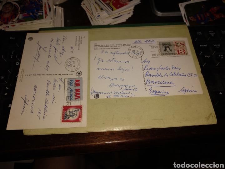 Postales: New York con sellos - Foto 2 - 281788428
