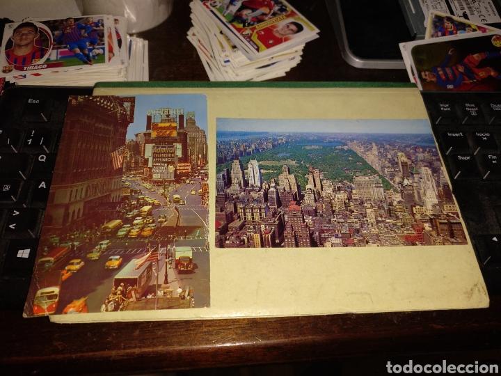 NEW YORK CON SELLOS (Postales - Postales Extranjero - América)