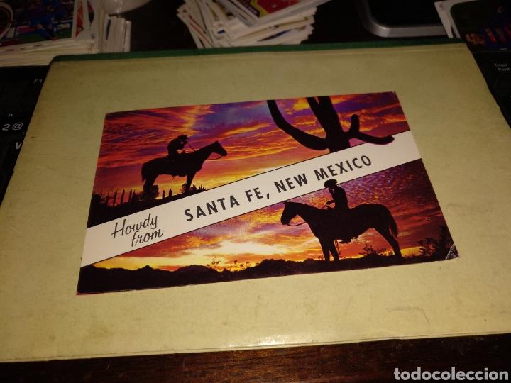 NEW MÉXICO CON SELLO (Postales - Postales Extranjero - América)