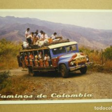 Cartoline: COLOMBIA. TRANSPORTE CAMPESINO. NUEVA. COCHE.. Lote 283656018