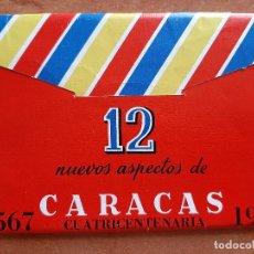 Postales: DOCE NUEVOS ASPECTOS DE CARACAS : SEIS POSTALES POR LAS DOS CARAS + DOS POSTALES AÑADIDAS. Lote 284698938