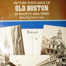 Postales: ÁLBUM CON 24 POSTALES DEL VIEJO BOSTON. EDITADAS POR DAVID LOWE. 1982.. Lote 284700768