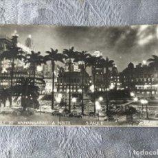Postales: VALE DO ANHANGABAÚ A NOITE SAO PAULO BRASIL BRAZIL POSTCARD. Lote 287555678