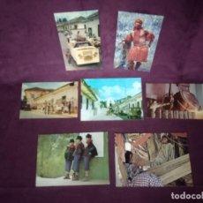 Postales: 7 ANTIGUAS POSTALES DE COLOMBIA, COSTUMBRISTAS Y ÉTNICAS. Lote 287685948