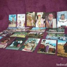 Postales: 20 POSTALES ÉTNICAS Y COSTUMBRISTAS, DE ECUADOR. Lote 287688813