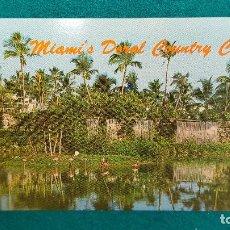 Postales: POSTAL MIAMI - DORAL COUNTRY CLUB. Lote 287898588