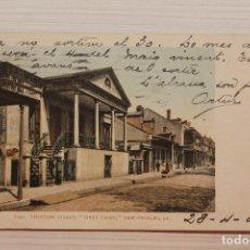 Postales: POSTAL, NEW ORLEANS, CHARTES STREET, DETROIT FOT.. Lote 288083808