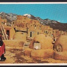 Postales: USA. NEW MEXICO. TAOS PUEBLO. CIRCULADA 1978.. Lote 288682468