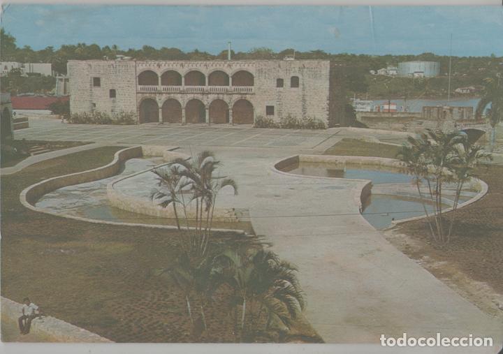 LOTE A-POSTAL HUNGRIA REPUBLICA DOMINICANA SANTO DOMINGO SELLO (Postales - Postales Extranjero - América)