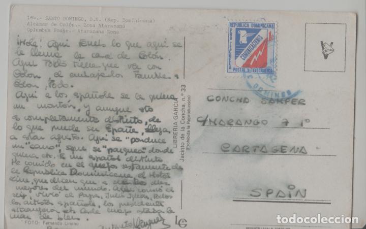 Postales: LOTE A-POSTAL HUNGRIA REPUBLICA DOMINICANA SANTO DOMINGO SELLO - Foto 2 - 288908553