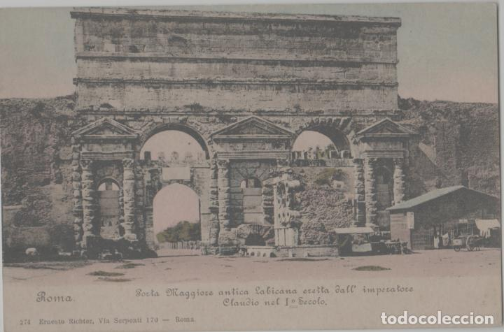 LOTE A-POSTAL ROMA ITALIA 1900 (Postales - Postales Extranjero - América)