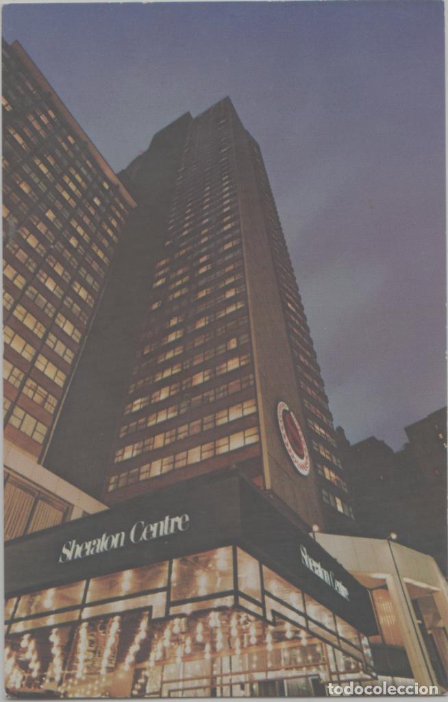 LOTE A-POSTAL NEW YORK HOTEL SHERATON (Postales - Postales Extranjero - América)