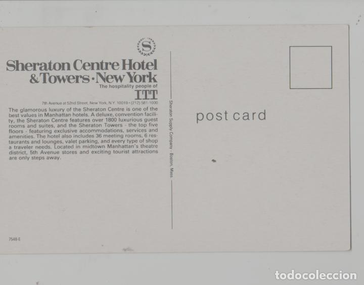 Postales: LOTE A-POSTAL NEW YORK HOTEL SHERATON - Foto 2 - 288908773