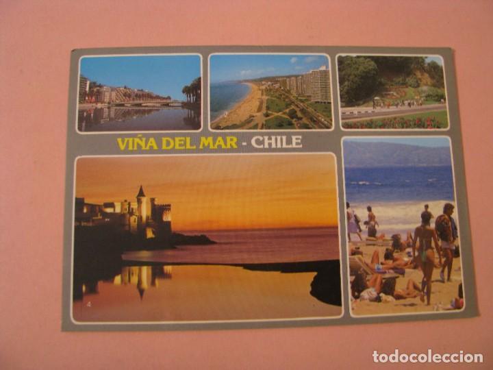 POSTAL DE CHILE. VIÑA DEL MAR. CIRCULADA 1989. (Postales - Postales Extranjero - América)