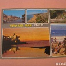 Postales: POSTAL DE CHILE. VIÑA DEL MAR. CIRCULADA 1989.. Lote 289258803