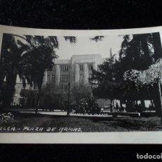 Postales: ANTIGUA FOTO-POSTAL DE TALCA (CHILE) PLAZA DE ARMAS. Lote 289409503