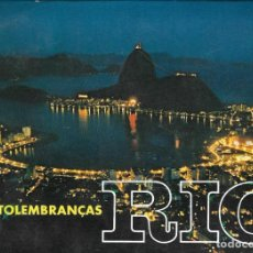 Postales: DESPLEGABLE FOTOGRÁFICO RIO DE JANEIRO - BRASIL. Lote 293840703