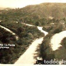 Postales: ANTIGUA FOTO POSTAL LA HERRADURA LA FALDA CORDOBA 1935. Lote 294261868