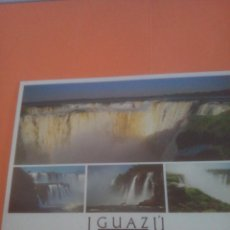 Postales: CATARATAS DEL IGUAZÚ - GARGANTA DEL DIABLO - ARGENTINA - BRASIL. Lote 294567023