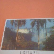 Postales: CATARATAS DEL IGUAZÚ - ARGENTINA - BRASIL. Lote 294567258