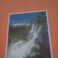 Postales: CATARATAS DEL IGUAZÚ - ARGENTINA - BRASIL. Lote 294567333