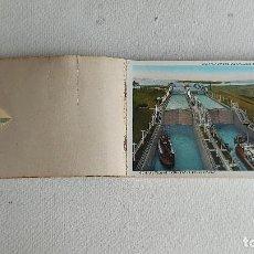 Postales: U-256.- BLOC CON - 24 - POSTALES DE PANAMA .- EXCLUSAS GATUN , VER FOTOS DE VARIAS DE ELLAS. Lote 295717678
