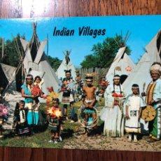 Postales: POSTAL INDIAN VILLAGES INDIA. Lote 296856493