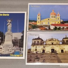 Postales: CIUDADES DE NICARAGUA. Lote 297034443