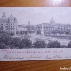 Postales: POSTAL CIRCULADA BUENOS AIRES/YECLA 1906.. Lote 297094313