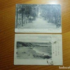 Postales: POSTALES CIRCULADAS SANTIAGO DE CHILE/YECLA.HACIA 1904.. Lote 297094508