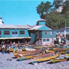 Postales: VALPARAÍSO (CHILE). VISTA DE LA CALETA MEMBRILLO. NUEVA. COLOR. Lote 297095273