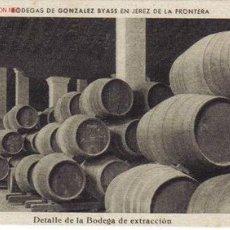 Postales: TARJETA POSTAL DE JEREZ DE LA FRONTERA (CADIZ)- BODEGAS DE GONZALEZ BYASS.. Lote 906456
