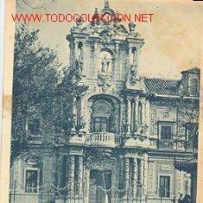 Postales: TARJETA POSTAL ANTIGUA DE SEVILLA PORTADA DEL PALACIO DE S. TELMO HAUSER Y MENET. Lote 4480268