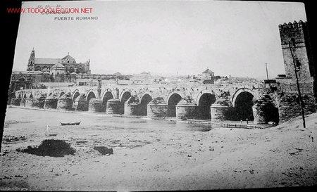 Antigua postal de cordoba puente romano comprar for Azulejeria antigua cordoba
