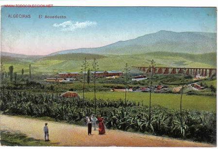 ALGECIRAS , CADIZ (Postales - España - Andalucía Antigua (hasta 1939))