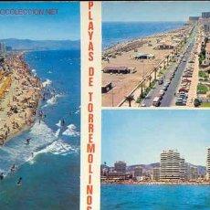 Postales: 30-PLAYAS DE TORREMOLINOS-MALAGA-COSTA DEL SOL. Lote 3063969